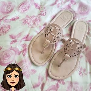Tory Burch clay pink Miller Sandals